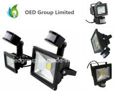 Livraison rapide IRP LED Blanc chaud 50 W 85-265V du capteur de mouvement de projecteur capteur Jour/Nuit