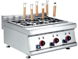 Counter-Top elektrische pastakooktoestel voor commercieel gebruik