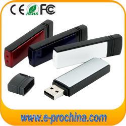 Promoção mais barata com 4 GB de memória de plástico da unidade flash USB para amostra grátis