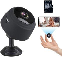 آلة تصوير مصغّرة مع وسائل سمعيّة وفيديو, [1080ب] [هد] آلة تصوير (مع [32غ] [سد] بطاقة), [ويفي] لاسلكيّة منزل صغيرة أمن مراقبات مربّية حدبة مع لين [فيسو]
