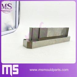 O corte com fio Punch personalizada OEM injetoras de plástico da placa do molde do aço moagem CNC a placa do molde