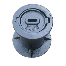 Boîtier en saillie de fer de coulage pour poteau incendie/Compteur d'eau