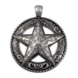 方法一義的な星の吊り下げ式の金属吊り下げ式亜鉛合金のペンダント