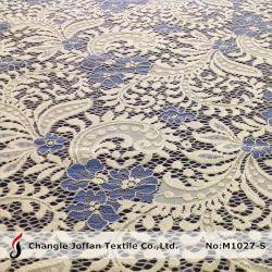 La mode à deux tons tissu lourd de la dentelle à la vente (M1027-S)