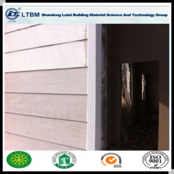 Du grain du bois décoratifs externe fibre Conseil d'évitement de ciment
