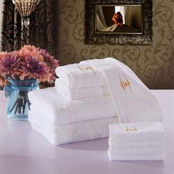 Изготовление 100% полотенца ванны гостиницы Терри хлопка для полотенца (TOW-003)