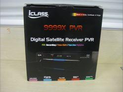 DVB-S Iclass 9999 Fernsehapparat-Empfänger