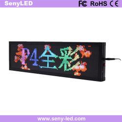 Recordações Banner Texto RGB Wi-Fi da placa de leds programáveis Mensagem Rolagem sinal do monitor