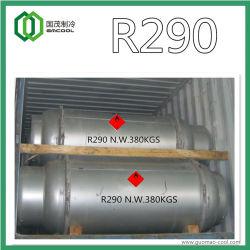 Le gaz réfrigérant (R290) propane