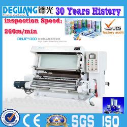 Inspeção de tecido e rebobinagem automática a máquina