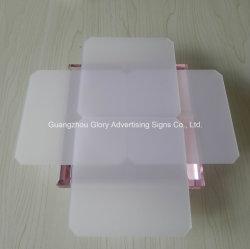 Diffuseur de lumière feuille acrylique en plastique, feuille acrylique Roofing