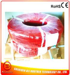 110V 20W/Mの直径2mmのシリコーンゴムの暖房ワイヤー