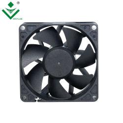A Reinicialização automática 12 Volts água CPU DC do ventilador de refrigeração 80X80X25 Refrigerador Axial