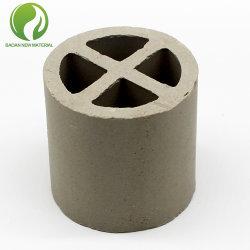 De chemische Ring van de dwars-Verdeling van de Verpakking Ceramische voor het Drogen, KoelToren