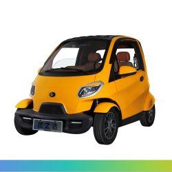 EWG-Bescheinigungs-billig elektrisches vierradangetriebenauto, zwei Tür-elektrisches Fahrzeug der Sitzdrei