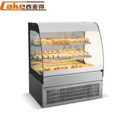 Bolo de padaria de alta qualidade do gabinete do monitor/Padaria do chiller do visor