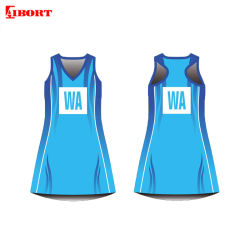Disegno di usura di sport di Aibort nuovo più il vestito dal Netball di formato (T-NT-222)