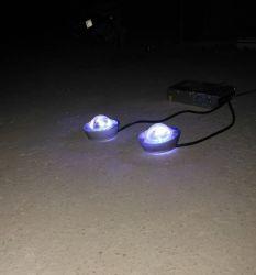 ضوء LED الزجاج السلكية الشمسية دعامة الطريق