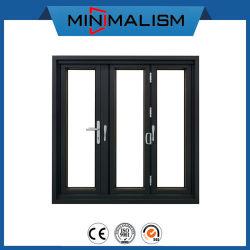 주택 건설을%s 손잡이 자물쇠를 가진 유리제 접히는 알루미늄 문