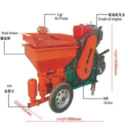 Gadget 2020 Machine de Construction de la fabrication en usine diesel électrique de mortier de ciment Le ciment de machines de la machine de pulvérisation de plâtrage pour la construction de murs de la machine