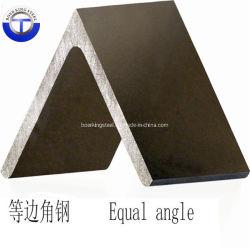 JISの標準Ss400等しい角度の黒によって電流を通される鋼鉄角度棒最もよい価格