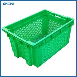 585*365*340mm y el anidamiento de apilamiento Contenedor de plástico para la fruta