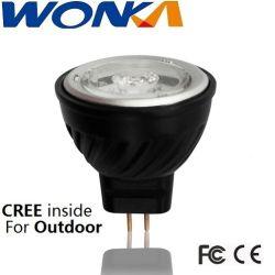 مصباح LED بديل MR11 بقوة 2.5 واط للتركيبة المغلقة