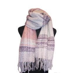 Dame de l'hiver chaud doux de mode Boucle couverture tissée foulard