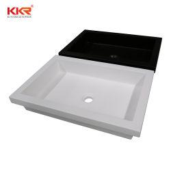 白いCoriansの浴室用キャビネット手の洗面器の流しは洗面器に値を付ける