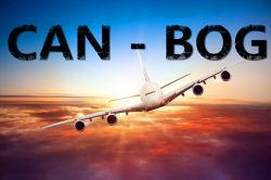 Воздушные грузовые транспортные перевозки из Гуанчжоу в Боготе
