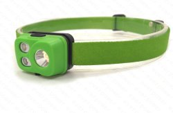 軽量の再充電可能な極度の明るい屋外LEDヘッドランプ