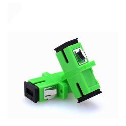 최신 판매 Sc/APC 셔터 통신망 떠꺼머리 섬유 케이블 광학적인 접합기