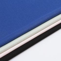 Novidade CVC 66%C34%T teia de algodão tricot de tecido de costela para T-shirt Dress
