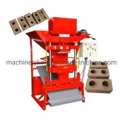 Criador de tijolos de solo argiloso manual linha de máquinas de produção