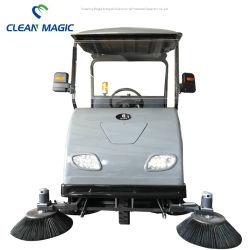 Limpe o Magic DJ1800UM preço de fábrica viagem de eléctrico no piso da estrada vassoura elétrica da máquina de limpeza