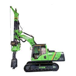 Accesorio de la excavadora personalizada transformar su plataforma de perforación rotativa Tysim Kr50 Perforación