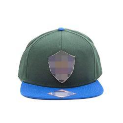 Luz verde del Ejército de contrato de tela azul cielo de béisbol de tejido de sombreros gorras visera Snapback camionero