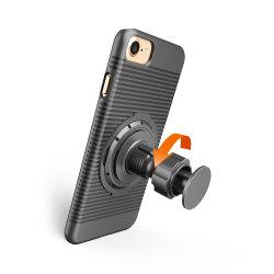 Новейшие 8 в 1 Многофункциональный крышку с зажимом для ремня Встроенная подставка для установки на велосипеде случаях автомобильный держатель корпуса для iPhone 7 Plus