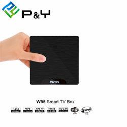 Коробка Ott TV Android 7.1 сердечника 1/8g квада IPTV франтовская W95 Amlogic S905W с карточкой SIM
