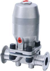 SS316L Operação Simples de Aço Inoxidável Sanitário tipo U asséptica da válvula de diafragma