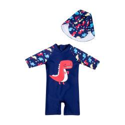 Дети купальный костюм купальный костюм обмундирование набор одежды костюм+Red Hat 2020 Летний плавательный костюм для мальчиков