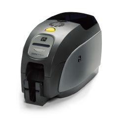 Alta calidad de la impresora de tarjetas de ID de PVC Zebra, el apoyo sencilla/doble cara, monocromo/impresión colorida Zxp Serie 3c