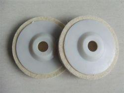 Шерсть войлочный диск угловой шлифовальной машинки полировка электроды для нержавеющей стали