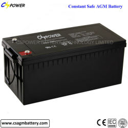 12V機密保護の警報システムのための200ahによって密封される鉛酸蓄電池