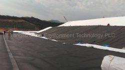 Kohle-Verbrennung-Rückstand- (CCR)niedrige Zwischenlage-Stärke 0.50-2.00mm Anti-Sickerung undurchlässiges undurchdringliches wasserdichtes doppelseitiges glattes HDPE Geomembrane