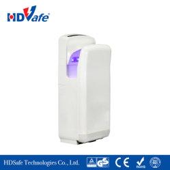 Einfacher Installations-Luft-Strahlen-an der Wand befestigte Hochgeschwindigkeitshände geben ABS Trockner für Badezimmer frei