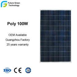 100W 36 cellules Accueil Produits d'électricité d'utilisation des panneaux solaires