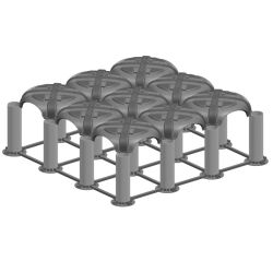 コンクリートのためのプラスチック具体的な型枠