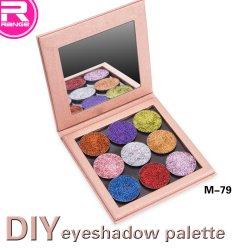 Eyeshadow vacío Llenado de recipientes Eyeshadow Paleta de colores de la sombra de ojos Eyeshadow Mineral Paleta de colores