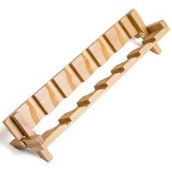 대나무 Foldable Gongfu 차 찻잔 선반 & 홀더 컵 선반 6 슬롯 Bh 4005